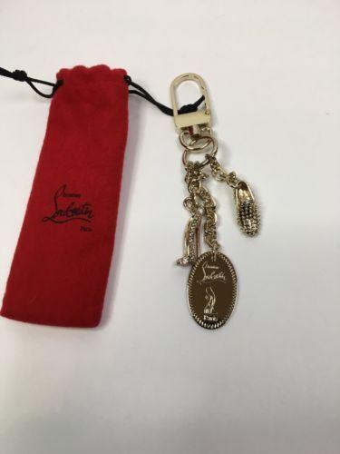 Christian Louboutin Keychain Designer Heels Wedges Christian