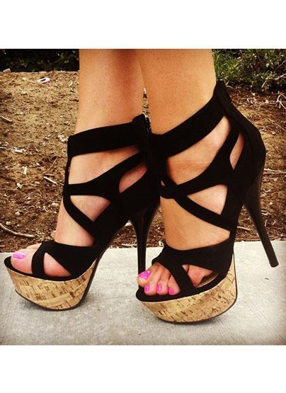 NEW WOMENS LADIES HIGH HEEL CAGED GLADIATOR CUT OUT ANKLE SHOES SIZE 3-7
