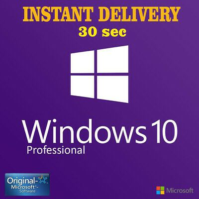 Ebay Link Ad Ms Windows 10 Pro Key Professional Activation Code 32 64 Bit Instant Delivery In 2020 Microsoft Windows Windows System Windows 10
