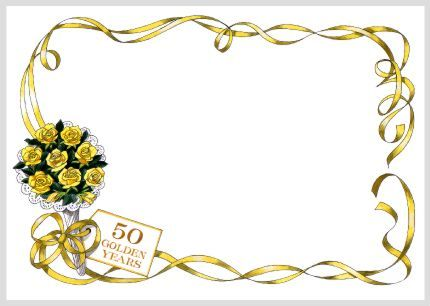 free 50th anniversary cards