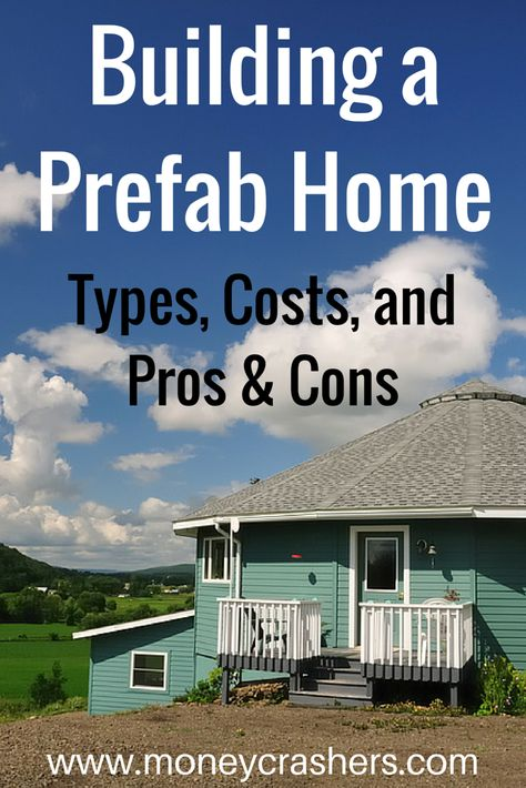Don't let the term prefab home scare you away  today's prefabricated  homes (also termed building systems by the National Association of Home  B ...