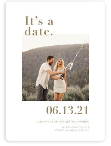 Simple Typographical Save The Date Card. Bold And Typographic, Modern, Red Save The Dates From Minted By Independent Artist Joyce Pinheiro. Purple Save The Dates, Modern Save The Dates, Wedding Save The Dates, Destination Wedding Invitations, Save The Date Invitations, Wedding Invitation Design, Party Invitations, Wedding Stationary, Save The Date Fotos