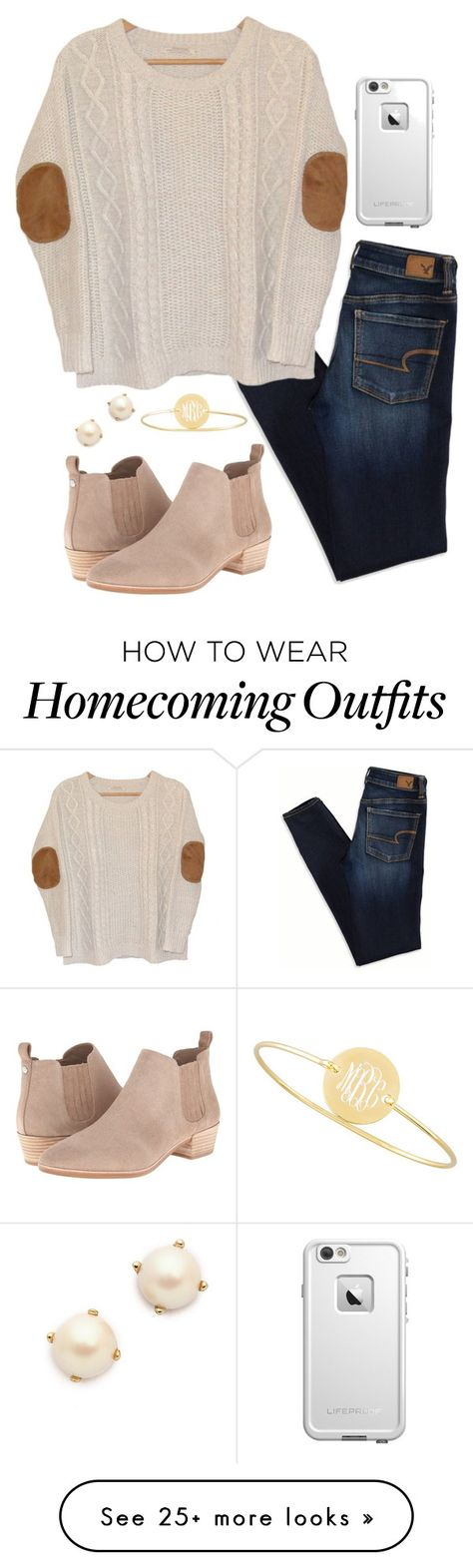 """got asked to homecoming today💖"" by mmorgann on Polyvore featuring MICHAEL Michael Kors, American Eagle Outfitters, Urban Outfitters, LifeProof, Kate Spade and Sarah Chloe"