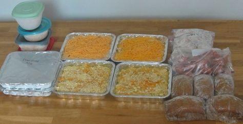dinner Ground Beef Freezer Meal Recipes   Freezer Spaghetti Sauce