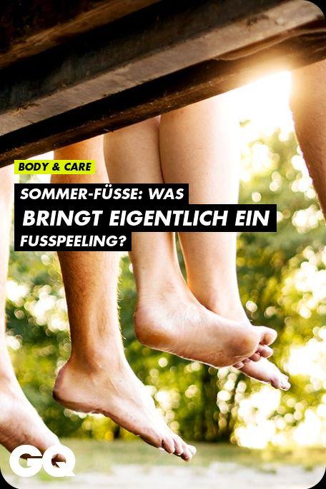 Sommer-Füße: Was bringt eigentlich ein Fußpeeling?