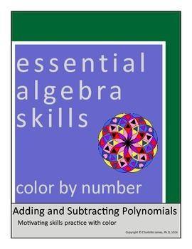 Adding and Subtracting Polynomials | Math Madness: Middle School ...