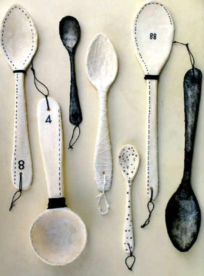 Paper spoons...