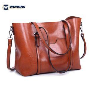 Soft Leather Ladies Shoulder Bag Laptop Bag Handbag Commuter Bag Briefcase