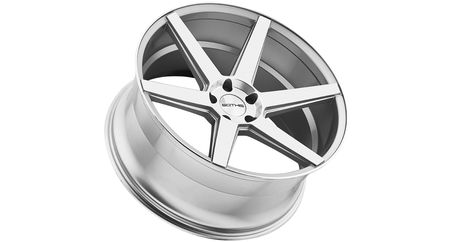 American Racing AR910 Gloss Black Wheel with Machined Face 20x9//6x139.7mm, +18mm offset