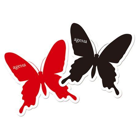 Sticker butterfly ¥210 http store ageha com