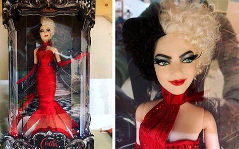 Disney Cruella live action movie 2021 Limited Edition doll