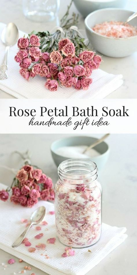 Gardener's Rose Petal Bath Soak