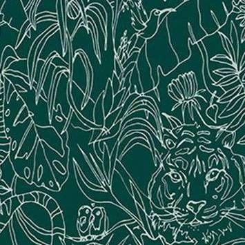 Blue Wallpaper Removable Peel Stick Wallpaper Target In 2020 Peel And Stick Wallpaper Wallpaper Jungle Animals