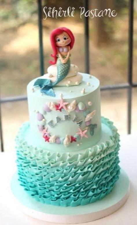 Little Mermaid Cake - Cake by Sihirli Pastane