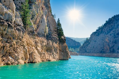 Beautiful Blue Sea, Turkey