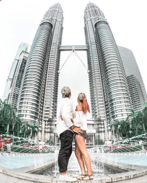 """TRAVEL COUPLE   GEORGE & HANNA on Instagram: """"Hello Kuala Lumpur! 🇲🇾 We had such a great time exploring this multicultural city. We had a busy four days here and ticked off some major…"""""""