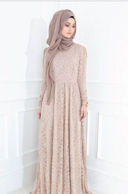 Model Kebaya Brokat Muslim Panjang Kebaya In 2019 Hijab Fashion