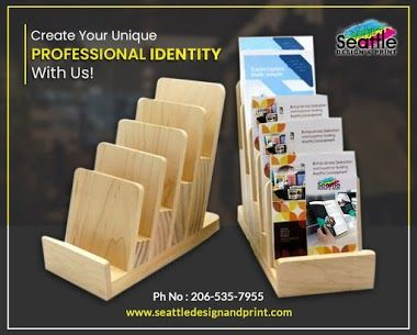 Make Your Brand Look Professional With Quality Products From Seattle Design Print Order Your Visiting Cards Letterheads Custom Posters Sign Printing Design