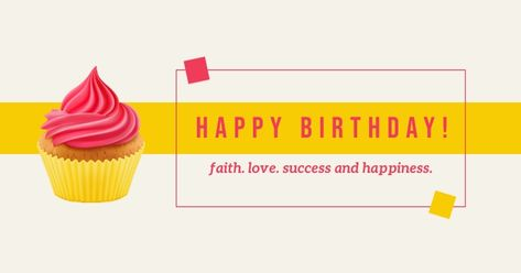 Facebook Birthday Template