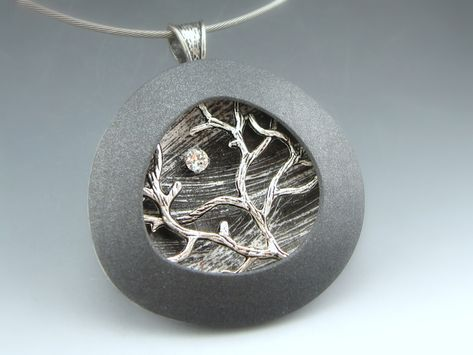 This is actually made from polymer clay. but I would love to paint the tree scene.