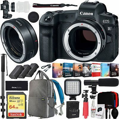 Click Now Eos R Canon Full Frame Mirrorless Camera Body Mount Adapter Ef Eos Adapter Body Camera In 2020 Mirrorless Camera Cameras And Accessories Eos