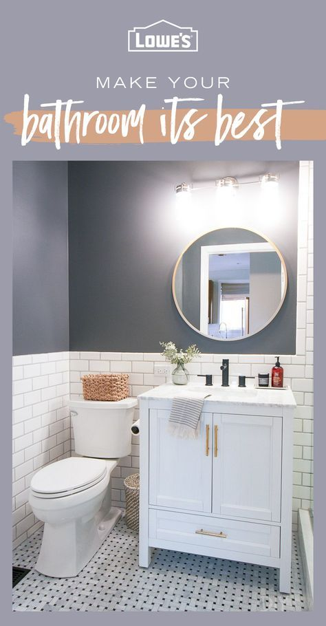 Looking To Beautify Your Bathroom Lowes Com Has Everything You Need To Upgrade And Elevate Tap The Pin Lowes Bathroom Lowes Bathroom Vanity Bathrooms Remodel