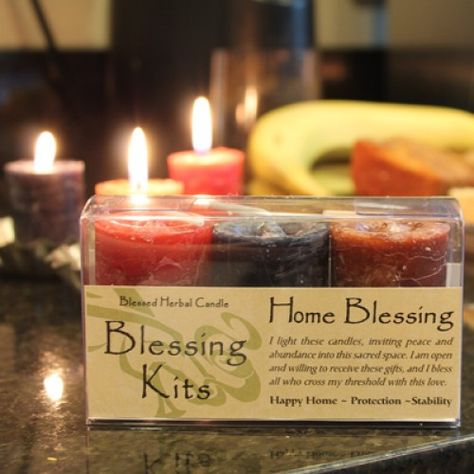 Blessed Herbal Candle Happy Home