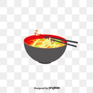 Ramen Vector Cartoon Beef Noodles Png And Vector With Transparent Background For Free Download