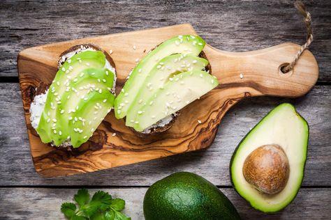 Afbeeldingsresultaat voor Kruidentoast met avocado