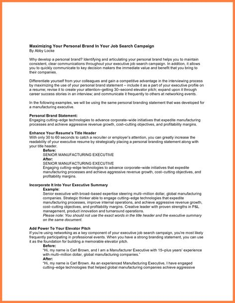 Resume Personal Statements Examples Superb 8 Resume Branding Personal Statement Examples Personal Brand Statement Examples Personal Mission Statement Examples