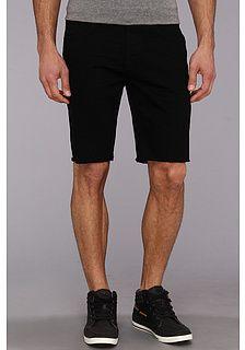 black shorts denim men