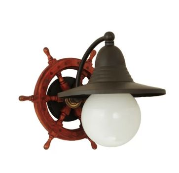 Seafarer Nautical Beach Style Wrapped Rope 8 Light Chandelier