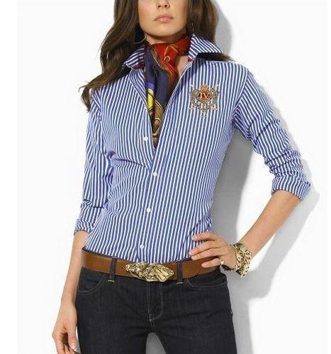 Polo Ralph Lauren camisas mujer ruixiang-ws047  25e24805ce18a