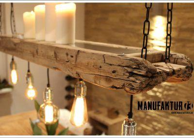 3 Gross 2 Lampen Esszimmer Holz Hangelampe Lampe