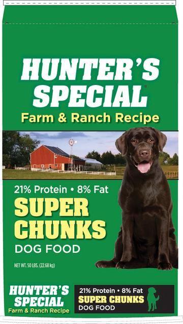 Hunters Special Super Chunk Dog Food Dog Food Recipes Dry Dog