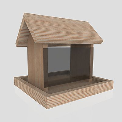 Bird Feeder | Download the free plans: https://www.kregtool.com/get-inspired/plans.aspx?source=1669