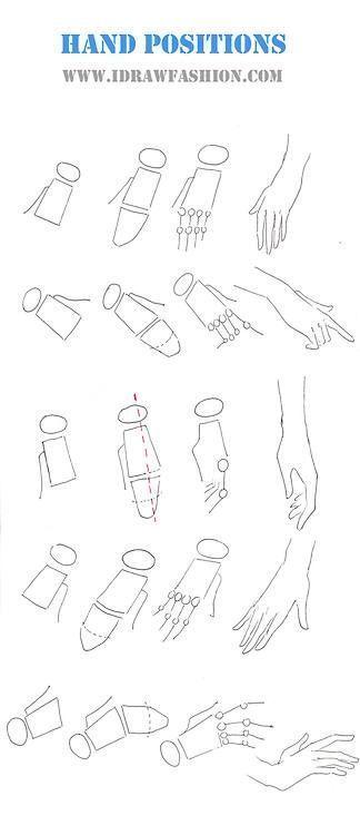 Ich zeichne Mode: Mode Hände in verschiedenen Positionen - Healthy Skin Care #hande #healthy #positionen #verschiedenen #zeichne