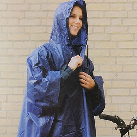 d445d40a537b6 New Light Weight Rain Coat Poncho Waterproof Festival Camping Hiking Hooded  Cape