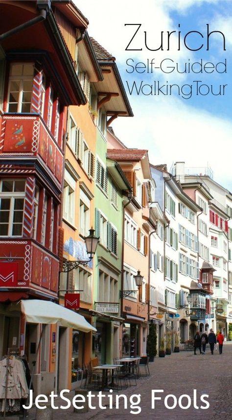 Zurich Self-Guided Walking Tour