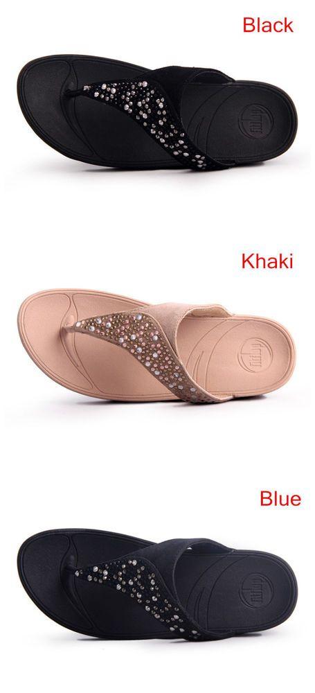 7dbd3d52ef2962 Woman FitFlop Body sculpting Sandals flip-flops US Size 5 6 7 8 9   Unbranded  AnkleStrap