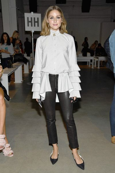 Olivia Palermo at Jonathan Simkhai - Here's What Celebs Wore to Sit Front Row This Fashion Week - Photos