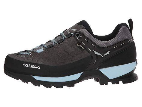 SALEWA Mountain Trainer GTX Women's Shoes CharcoalBlue Fog