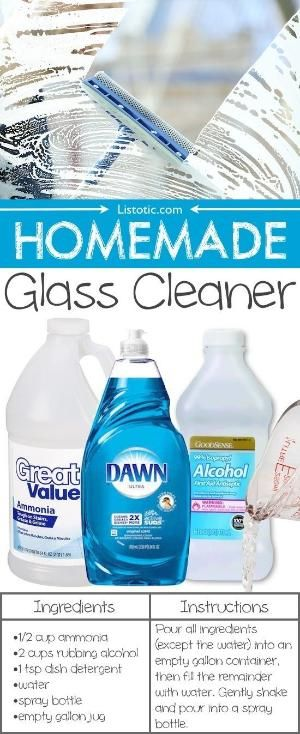 Homemade Streak Free Window Cleaner 1 2 Bottle Of Jet Dry About 3 5 Oz 4 T Rubbing Alcohol 1 Glass Cleaner Recipe Homemade Glass Cleaner Cleaning Hacks