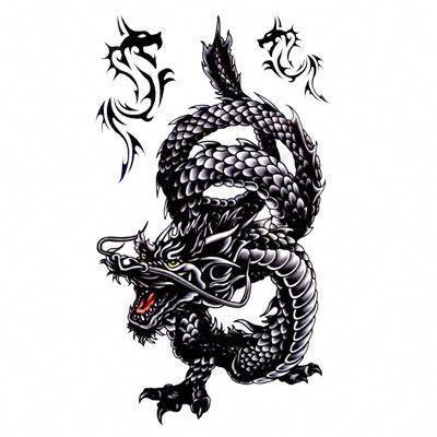 Popular Chinese Dragon Tattoo Buy Cheap Chinese Dragon Tattoo Popular Chinese Dragon Tattoo Buy In 2020 Dragon Tattoo Dragon Tattoos For Men Black Dragon Tattoo