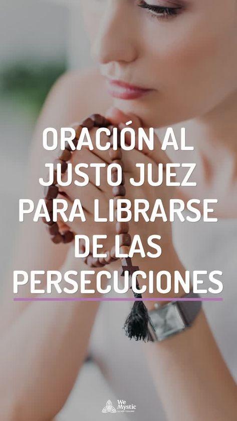 Oración al justo juez para librarse de las persecuciones