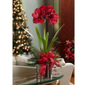 Winter Floral Arrangements Centerpieces Artificial Red Etsy Christmas Floral Arrangements Christmas Flower Arrangements Winter Floral Arrangements