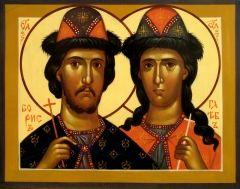 В Вышгороде  освящен храм в честь благоверных князей Бориса и Глеба