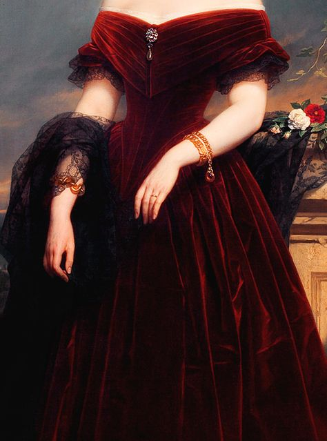 Imagen de painting, art, and dress Pretty Dresses, Beautiful Dresses, Bel Art, Princess Aesthetic, Aesthetic Painting, Classical Art, Red Aesthetic, Renaissance Art, Renaissance Clothing
