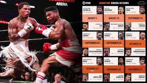 Boxing Returns To Showtime Press Conference Quotes New Major Fight Announcements Real Combat Media In 2020 Boxing Schedule Boxing Champions Boxing Events