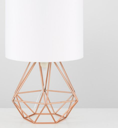 Pin By Katie Harakal On Lighting Geometric Table Lamp Geometric Table Lamp